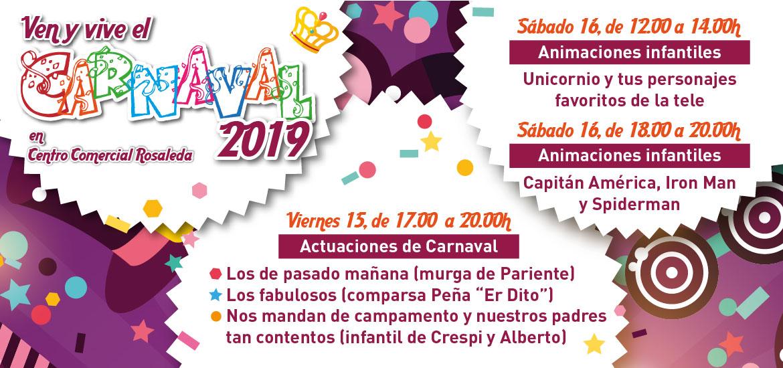 Ven y vive el Carnaval 2019