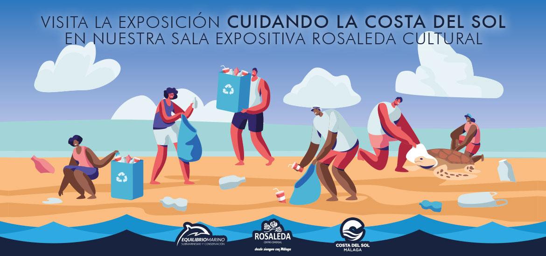 """Centro Comercial Rosaleda y Equilibrio Marino exponen """"Cuidando la Costa del Sol"""""""