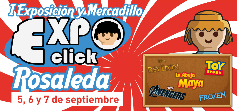 Expoclick llega al Centro Comercial Rosaleda