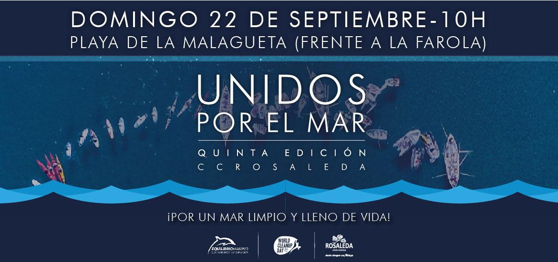 Participa en 'Unidos por el mar', un evento que reivindicará un mar limpio y lleno de vida