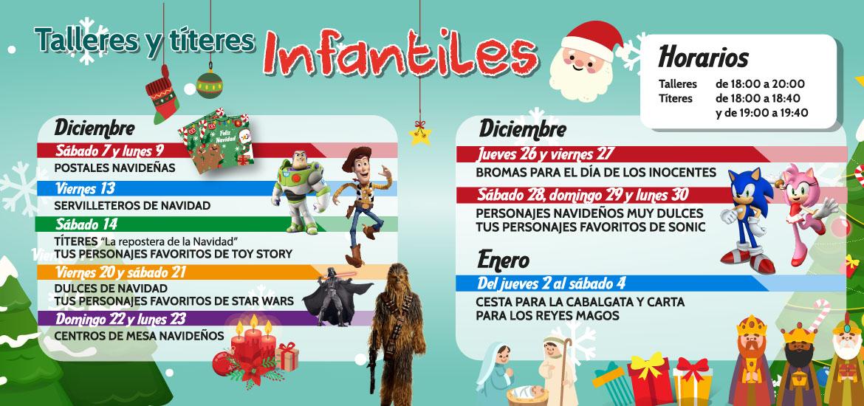Talleres infantiles (diciembre)