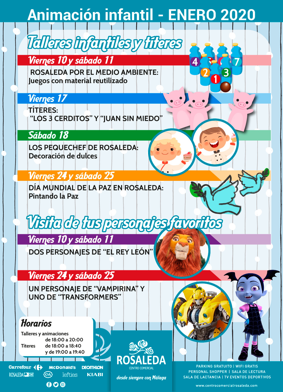 Talleres infantiles (enero 2020)