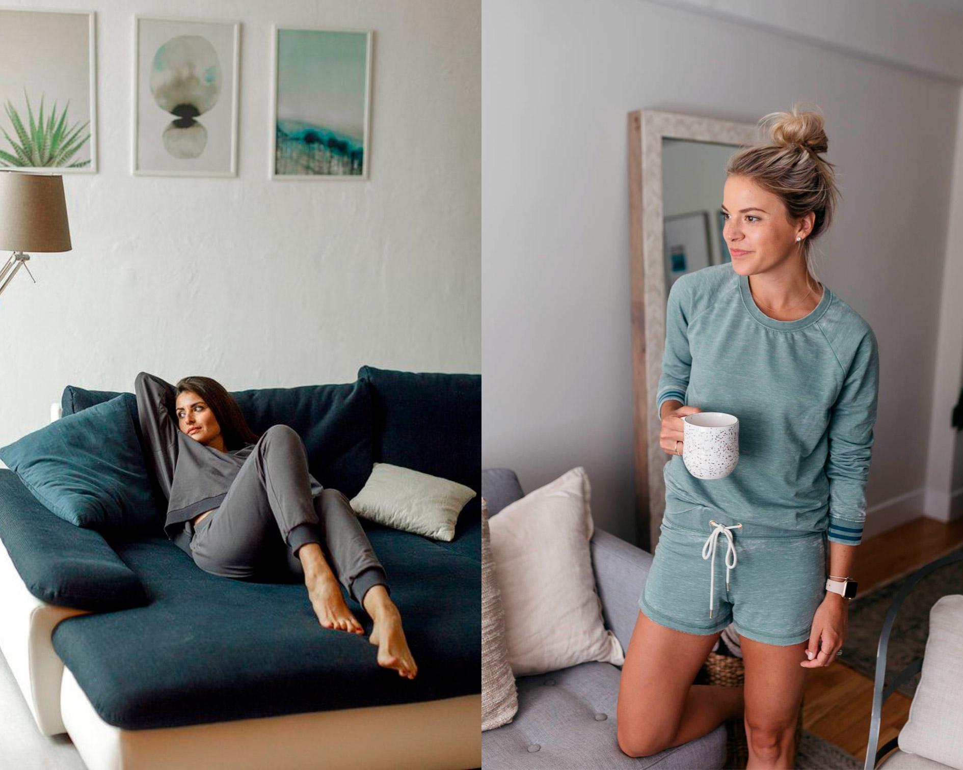 LOOKS PARA LA CUARENTENA: estilo cómodo e informal