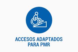 ACCESOS ADAPTADOS PARA PMR
