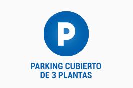 PARKING CUBIERTO DE 3 PLANTAS