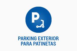 PARKING EXTERIOR PARA PATINETAS