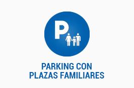 PARKING CON PLAZAS FAMILIARES