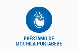 PRÉSTAMO DE MOCHILA PORTABEBÉ