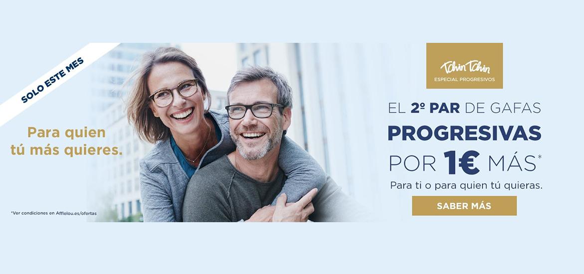 Tus gafas progresivas con Alain Afflelou