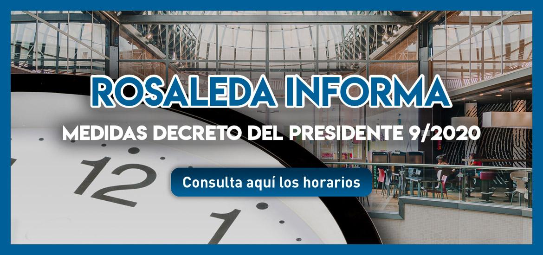 Comunicado sobre el decreto del Presidente 9/2020, de 8 de noviembre
