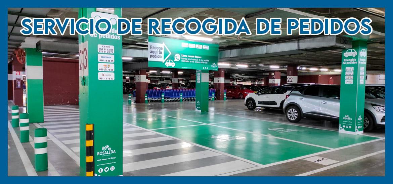 SERVICIO DE RECOGIDA DE PEDIDOS CENTRO COMERCIAL ROSALEDA