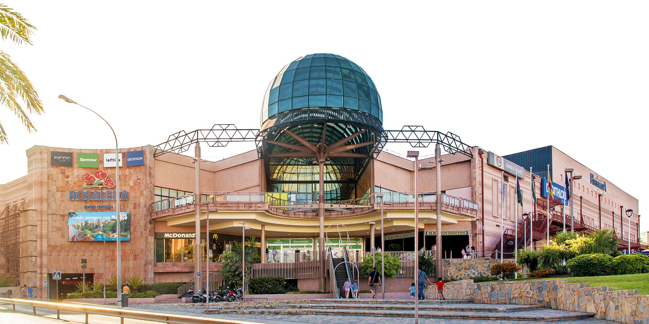 Bienvenido al Centro Comercial Rosaleda