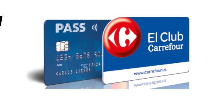 El Club Carrefour o Tarjeta PASS