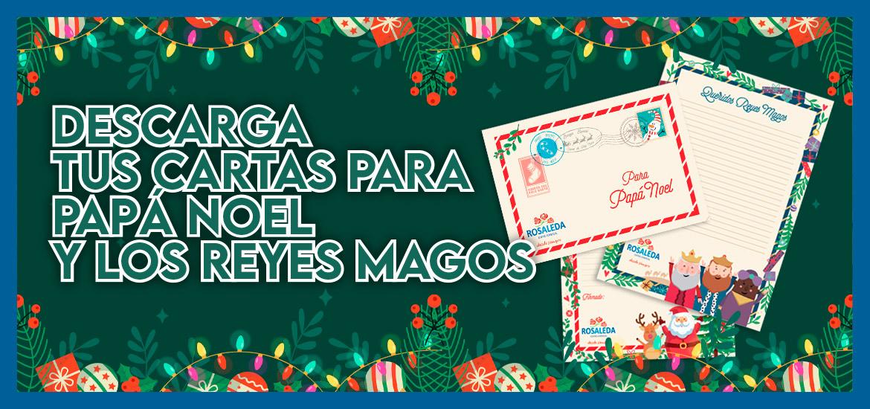 DESCARGA TUS CARTAS PARA PAPA NOEL Y LOS REYES MAGOS