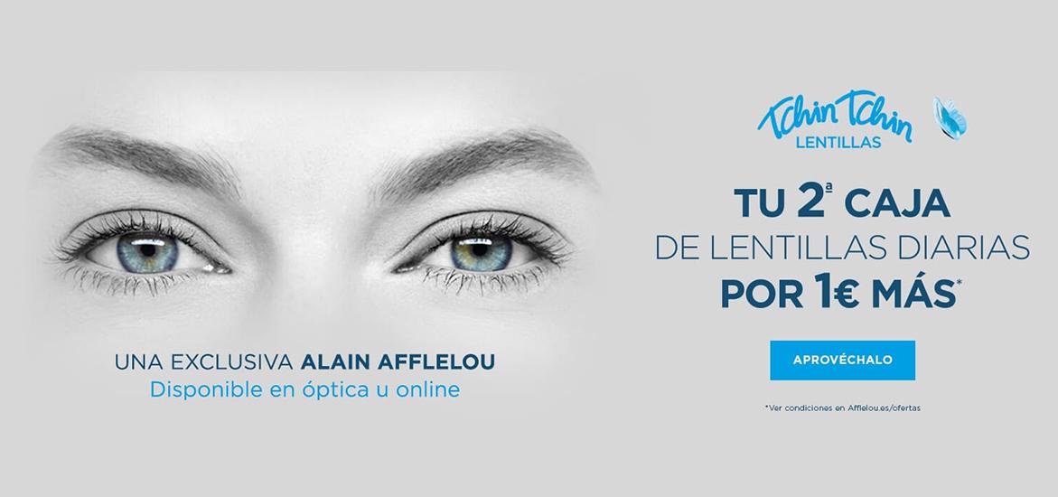 Tus lentillas en Alain Afflelou
