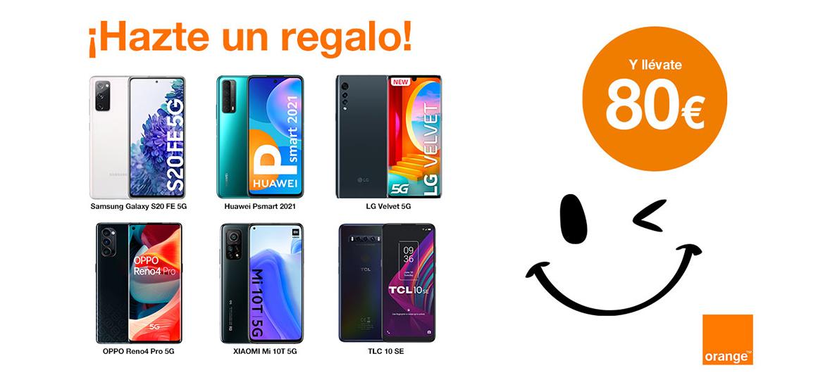 Tu nuevo móvil en Orange