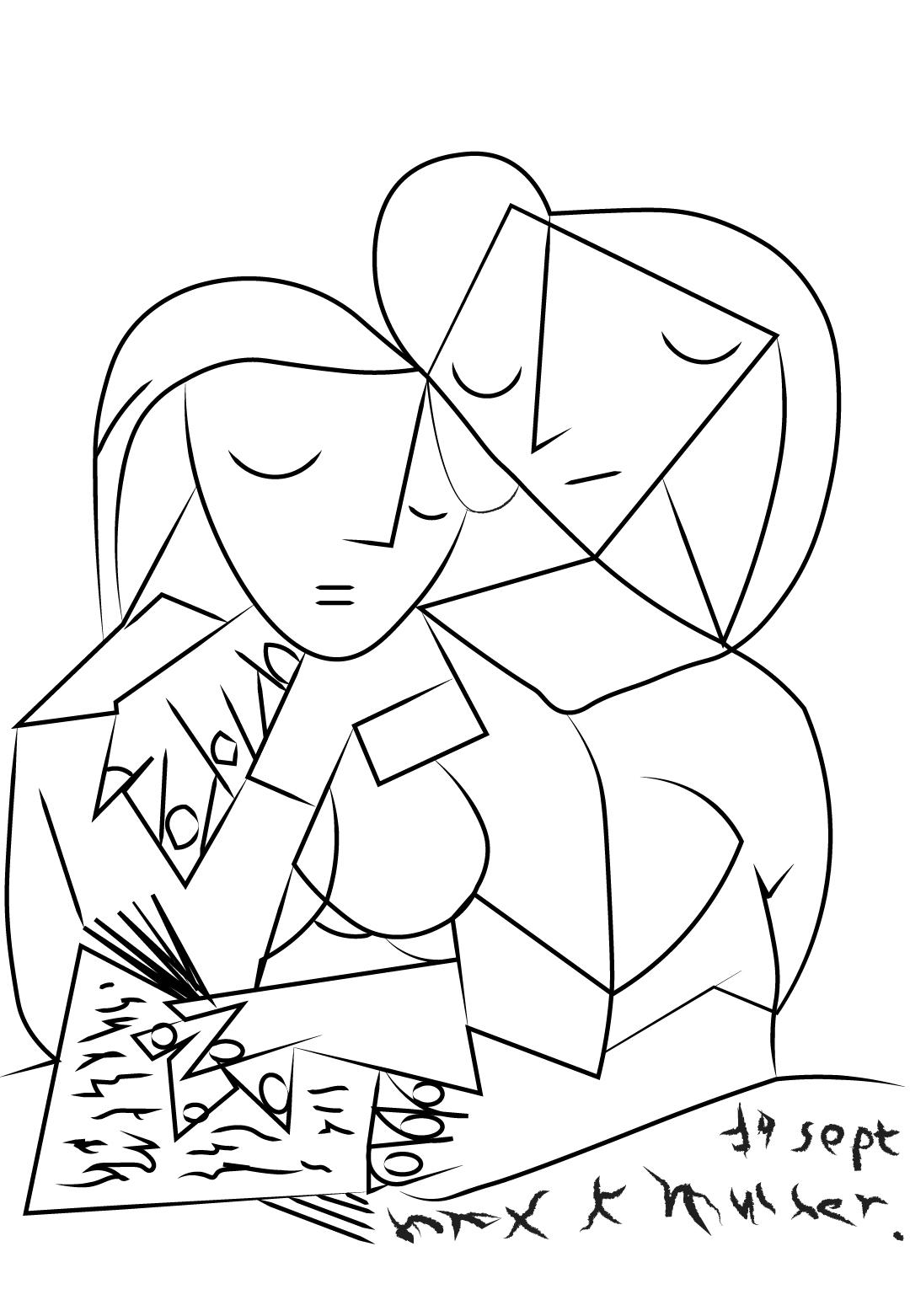 Los dibujos de Rosaleda Kids Club conviértete en Picasso