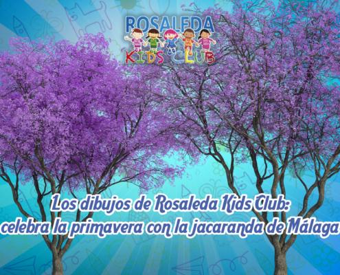 Los dibujos de Rosaleda Kids Club: celebra la primavera con la jacaranda de MálagaLos dibujos de Rosaleda Kids Club: celebra la primavera con la jacaranda de Málaga