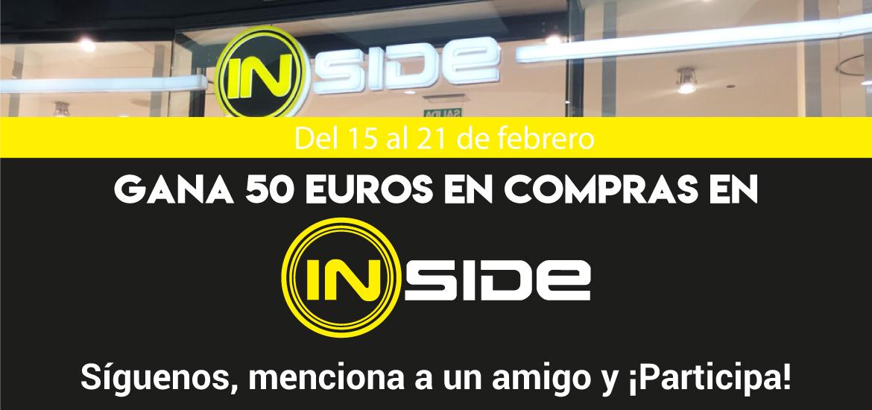 Gana 50 euros en Inside