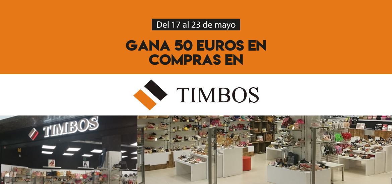 Gana 50 euros en compras en Timbos