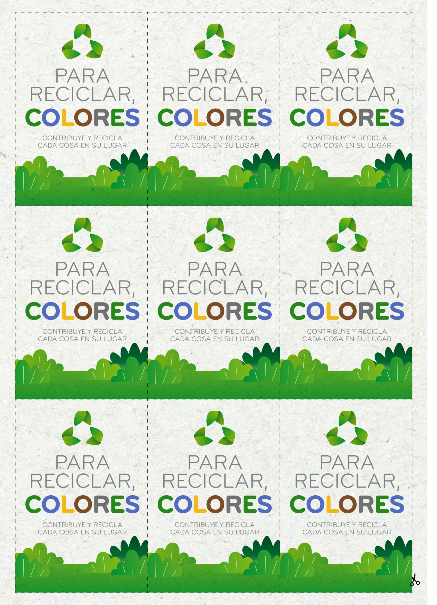 Los juegos de Rosaleda Kids Club: para reciclar, colores