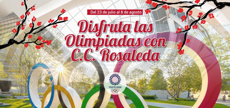 Disfrutas las Olimpiadas con CC Rosaleda