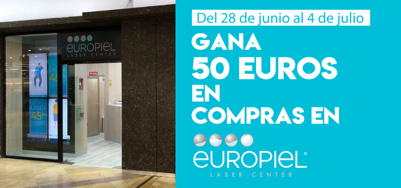Gana 50 euros en compras en Europiel