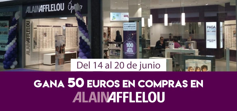 Gana 50 euros en compras en Alain Afflelou