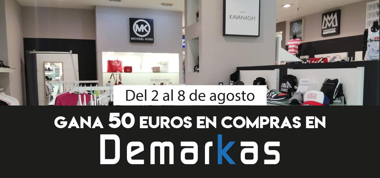Gana 50 euros en compras en Demarkas
