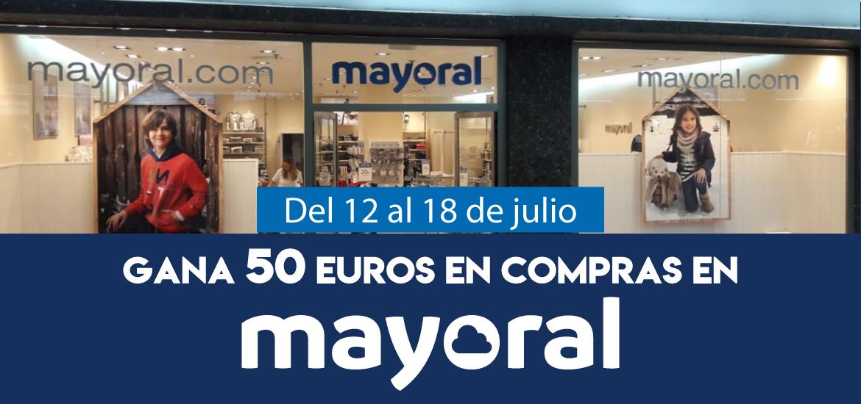 Gana 50 euros en compras en Mayoral