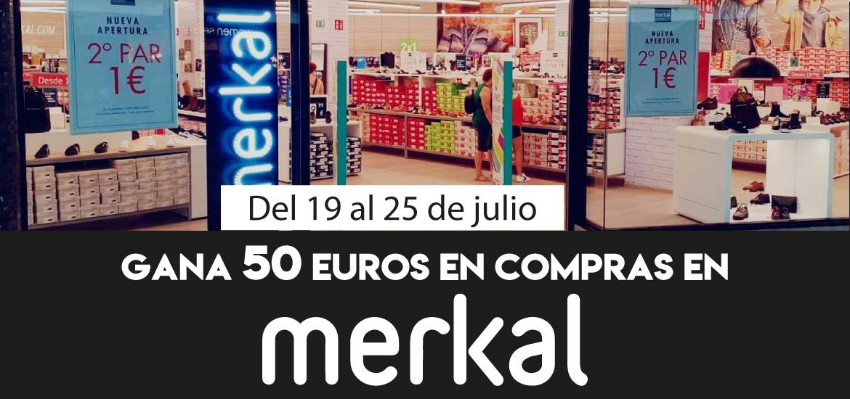Gana 50 euros en compras en Merkal