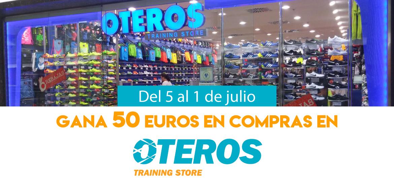 Gana 50 euros en compras en Oteros