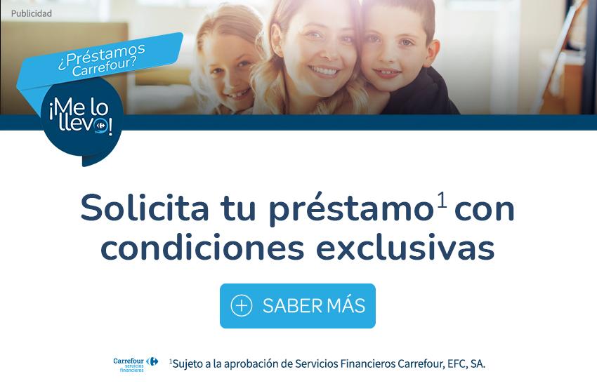 Solicita tu préstamos Carrefour