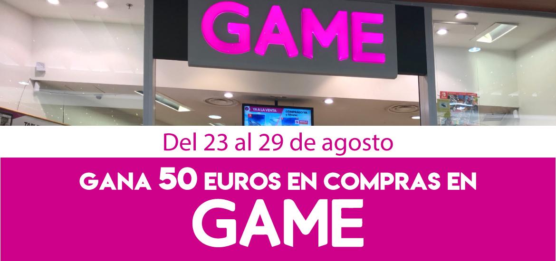 Gana 50 euros en compras en GAME
