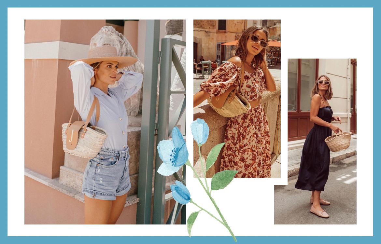 Looks de verano de las influencers que más te gustan