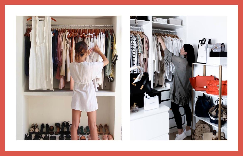 Las claves para hacer el cambio de armario